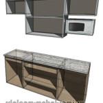модули в кухне