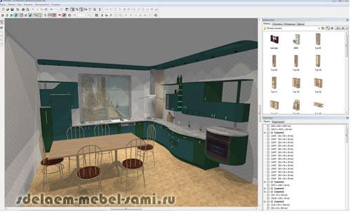 проектирование мебели PRO100