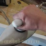 как налепить ПВХ кромку утюгом